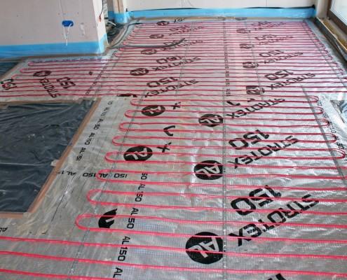 Elektryczne ogrzewanie podłogowe - kable grzewcze