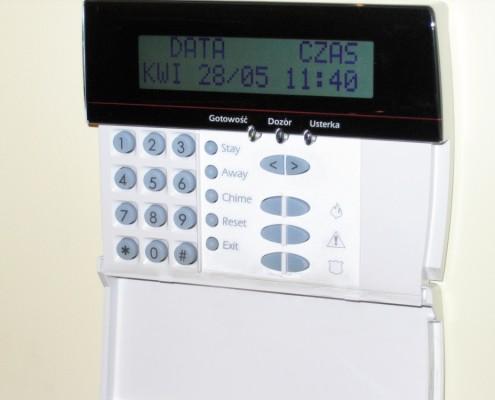 Klawiatura LCD firmy DSC (starszy typ)